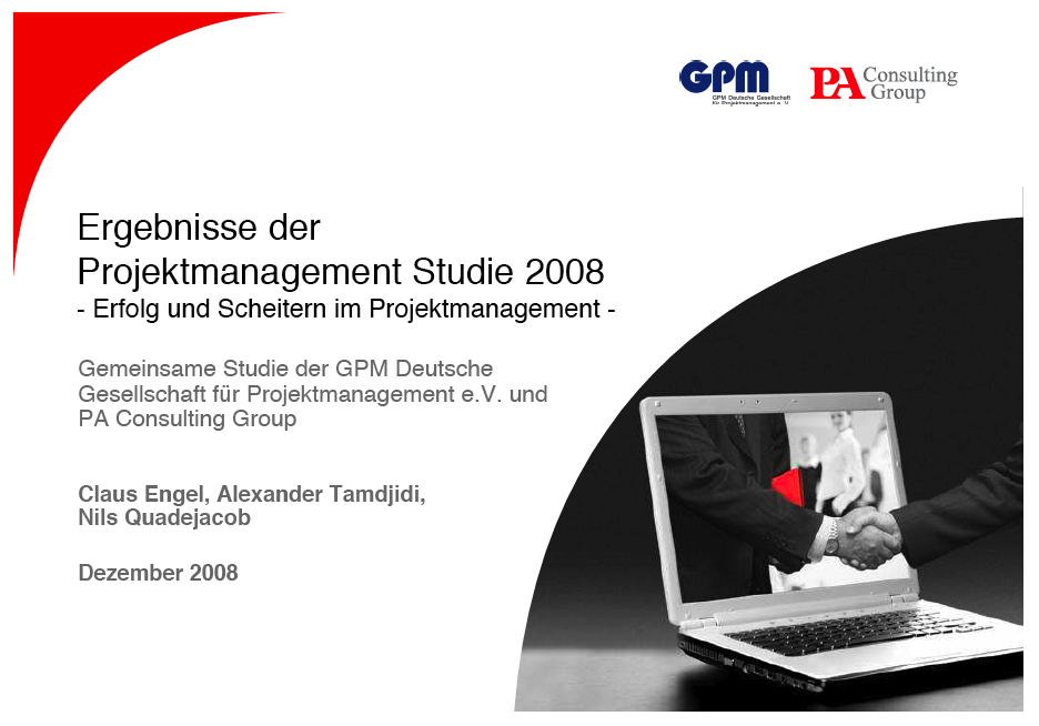 PM Studie 2008 (GPM / PA Consulting)