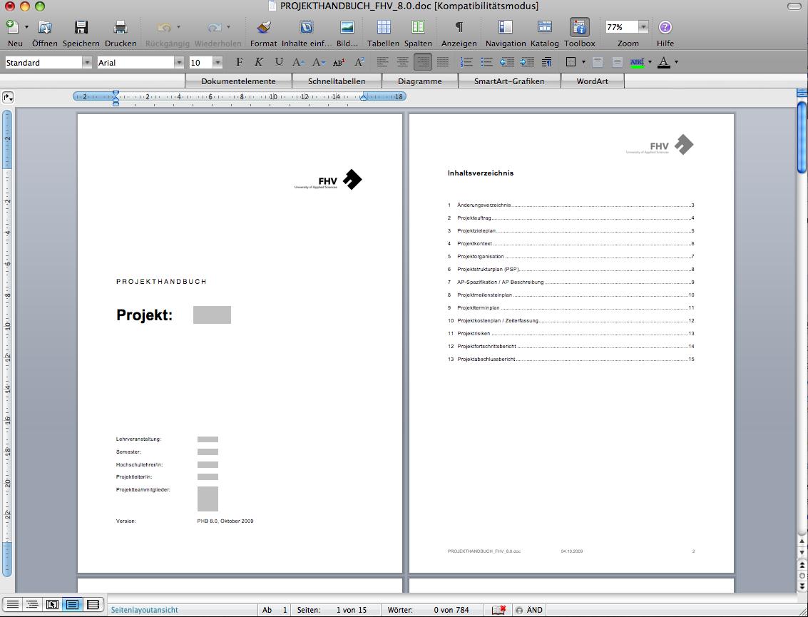 Projekthandbuch für Kleinprojekte – Projektmanagement Blog