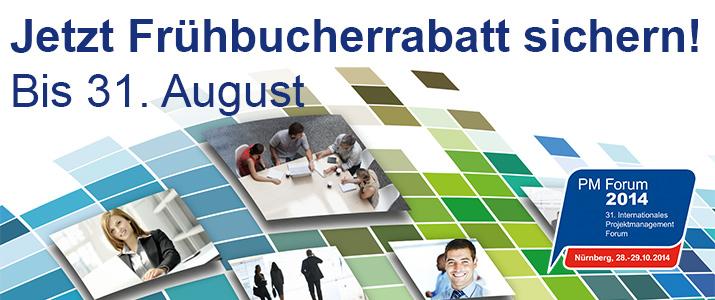 PM Forum - Frühbucher